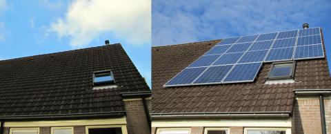 18 zonnepanelen gelegd voor Bouwbedrijf Nobel Bodegraven